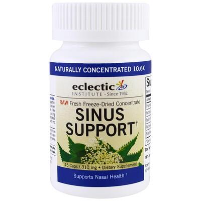 Eclectic Institute Укрепление здоровья носа, 310 мг, 45 растительных капсул