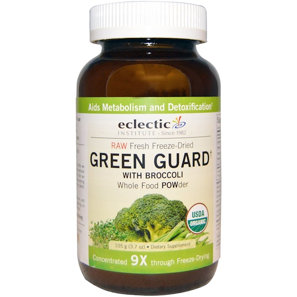 Eclectic Institute, Green Guard with Broccoli, Whole Food POWder, 3.7 oz (105 g)