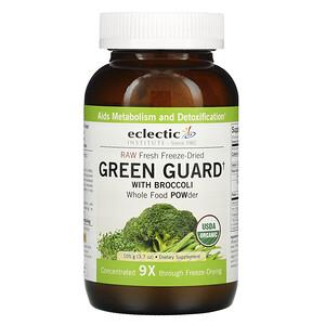 Эклектик Институт, Raw Fresh Freeze-Dried, Green Guard with Broccoli, Whole Food POWder, 3.7 oz (105 g) отзывы покупателей