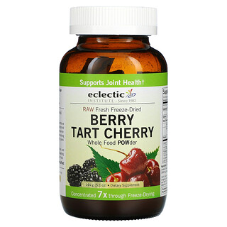 Eclectic Institute, Raw Fresh Freeze-Dried, Berry Tart Cherry, Whole Food POWder, 5.1 oz (144 g)