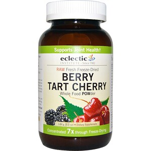 Эклектик Институт, Raw Fresh Freeze-Dried, Berry Tart Cherry, Whole Food POWder, 5.1 oz (144 g) отзывы покупателей