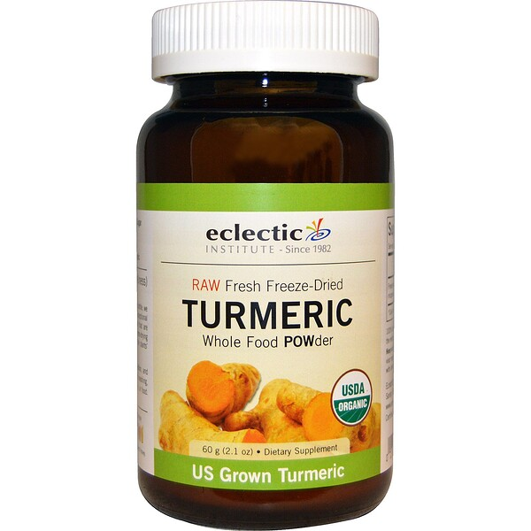 Turmeric, Whole Food POWder, 2.1 oz (60 g)