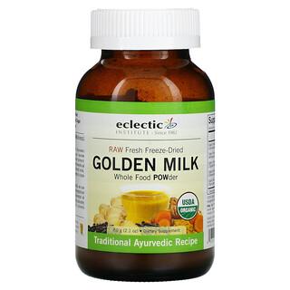 Eclectic Institute, Raw Fresh Freeze-Dried, Golden Milk, 2.1 oz (60 g)