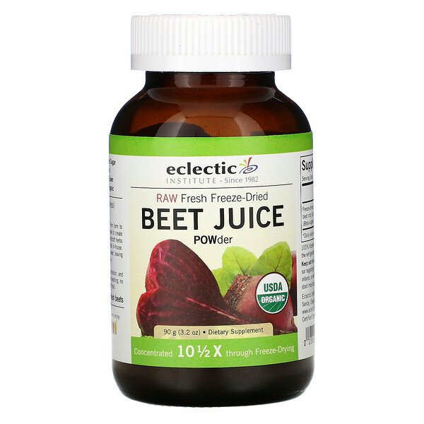 Eclectic Institute, Beet Juice POWder, 3.2 oz (90 g)