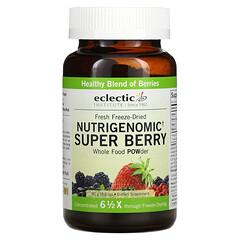 Eclectic Institute, 新鮮凍乾 Nutrigenomic 超級漿果全食物營養粉,3.2 盎司(90 克)