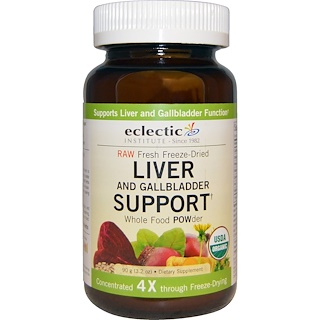 Eclectic Institute, Organic Liver and Gallbladder Support, Whole Food POWder, 3.2 oz (90 g)