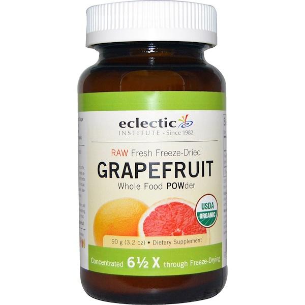 Eclectic Institute, Grapefruit POWder, Raw, 3.2 oz (90 g)