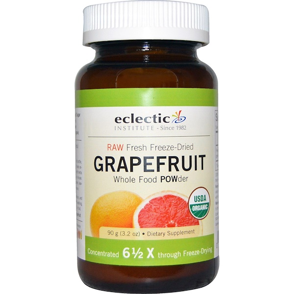 Grapefruit POWder, Raw, 3.2 oz (90 g)