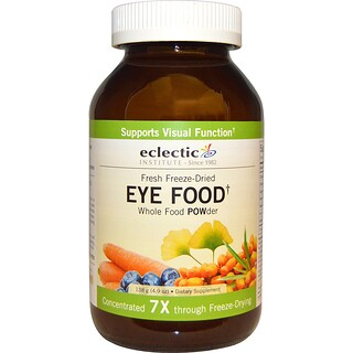 Eclectic Institute, Eye Food, Alimento Integral em Pó, 4,9 oz (138 g)