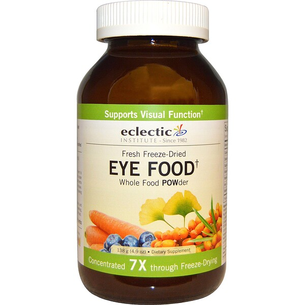 Eclectic Institute, Eye Food, Whole Food POWder, 4.9 oz (138 g)