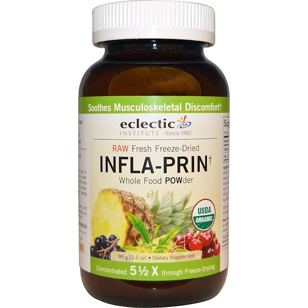 Eclectic Institute, Infla-Prin, Whole Food POWder, 3.2 oz (90 g) (Discontinued Item)