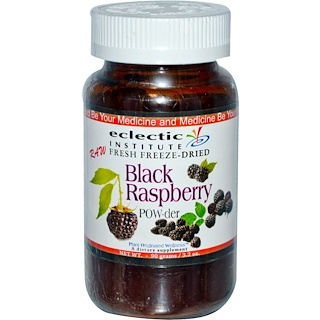 Eclectic Institute, Black Raspberry POW-der, 3.2 oz (90 g)