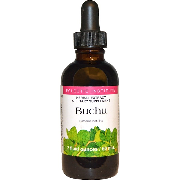 Eclectic Institute, Buchu, 2 fl oz (60 ml) (Discontinued Item)