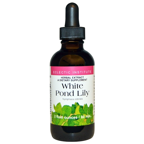 Eclectic Institute, White Pond Lily, 2 fl oz (60 ml) (Discontinued Item)