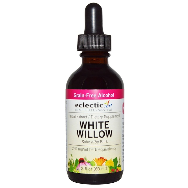Eclectic Institute, White Willow, 2 fl oz (60 ml) (Discontinued Item)