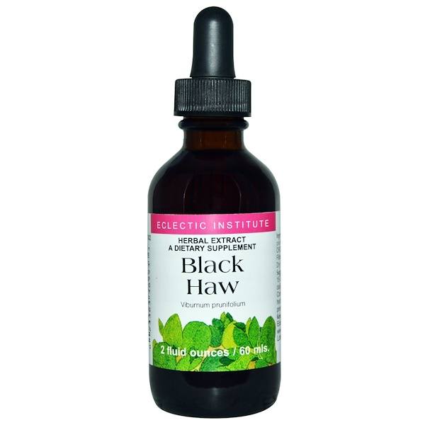 Eclectic Institute, Black Haw, 2 fl oz (60 ml) (Discontinued Item)