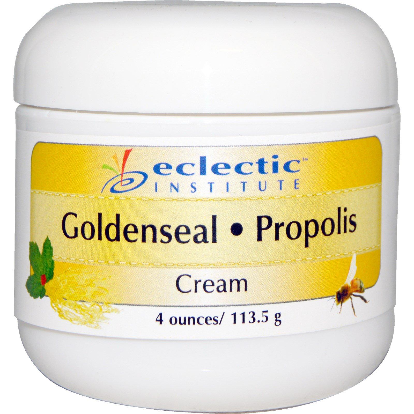 Eclectic Institute, Goldenseal-Propolis Cream, 4 oz (113 5 g