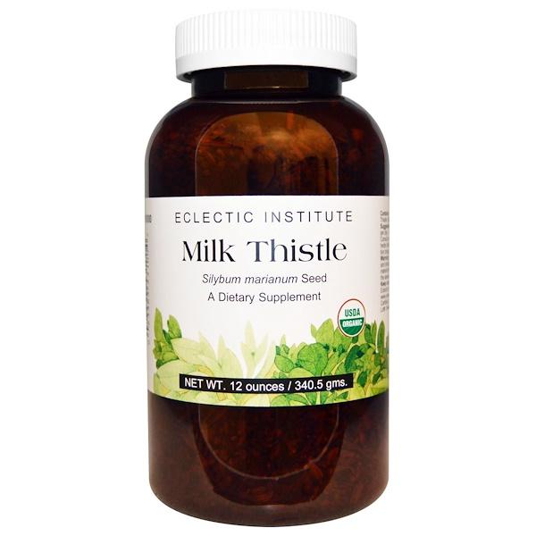 Eclectic Institute, Milk Thistle , 12 oz (340.5 g) (Discontinued Item)