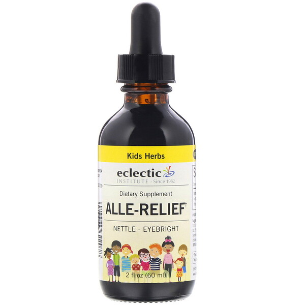 Eclectic Institute, Kids Herbs, Alle-Relief, 2 fl oz (60 ml)