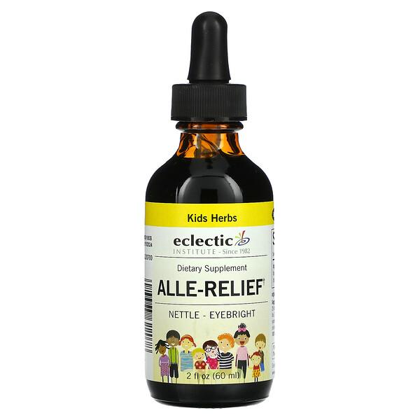 Eclectic Institute, Kids Herbs, Alle-Relief, 2 fl oz (60 ml)