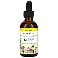 Eclectic Institute, Kids Herbs, Sleep,  2 fl oz (60 ml)