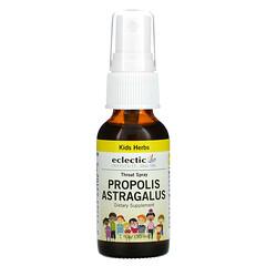 Eclectic Institute, Kids Herbs, Propolis Astragalus, Throat Spray, 1 fl oz (30 ml)