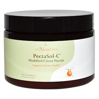 Econugenics, PectaSol-C Modified Citrus Pectin, Powder, 150 g