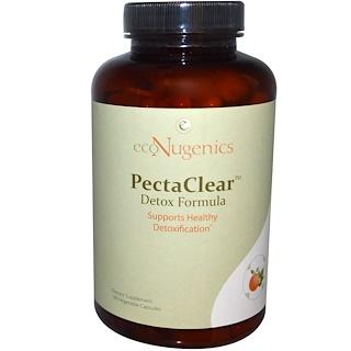 Econugenics, PectaClear Detox Formula, 180 Veggie Caps