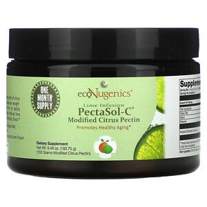 Econugenics, Lime Infusion PectaSol-C Modified Citrus Pectin, Natural Lime, 6.48 oz (183.75 g)