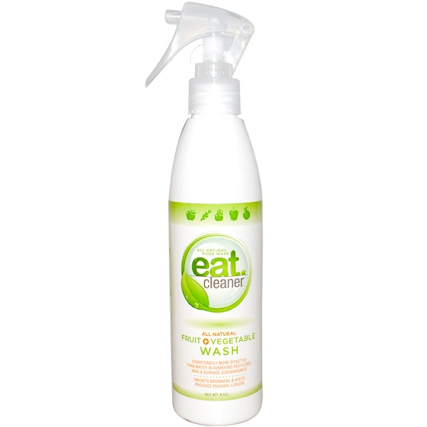 Eat Cleaner, All Natural Fruit + Vegetable Wash, 8 oz (Discontinued Item)