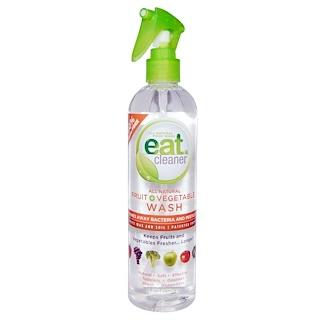 Eat Cleaner, Очищающее средство для фруктов и овощей, 12 унций (354 мл)
