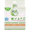 Eat Cleaner, Enjuague de grado alimenticio, polvo totalmente natural, 10 paquetes, 3.2 oz (90.72 g)