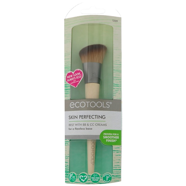 EcoTools, Skin Perfecting Brush for BB/CC Creams, 1 Brush (Discontinued Item)