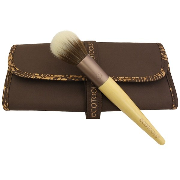 EcoTools, Collector's Brush Roll with Multi-Tasking Face Brush (Discontinued Item)