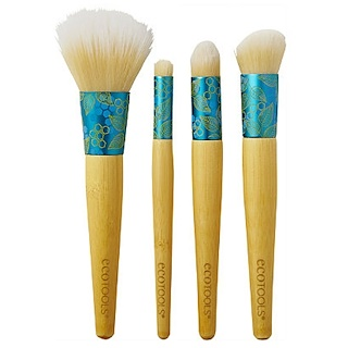 EcoTools, Four-Piece Beautiful Complexion Set, 4 Brushes