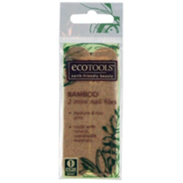EcoTools, Bamboo Mini Nail Files, 2 Files (Discontinued Item)