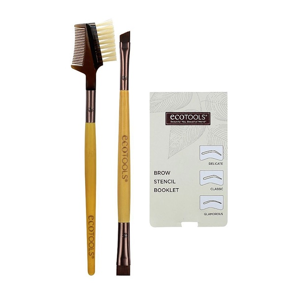 EcoTools, Brow Shaping Set, 3 Stencils Included (Discontinued Item)