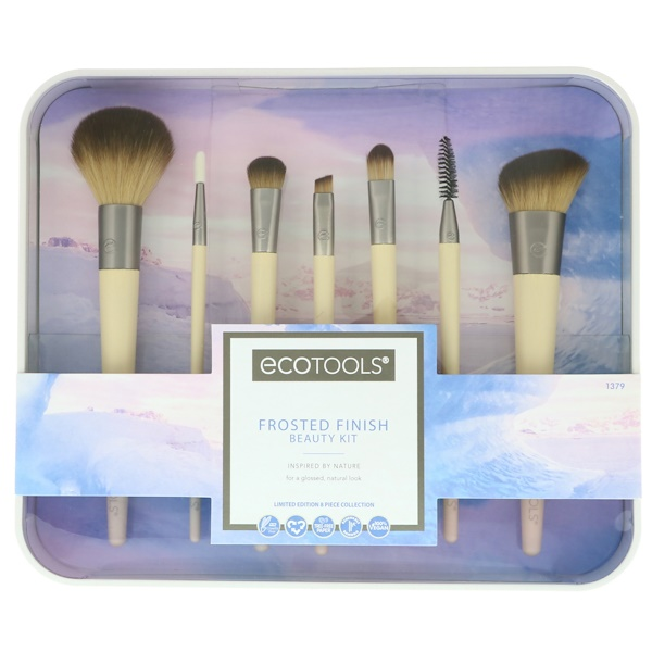 EcoTools, Frosted Finish Beauty Kit, 8 Piece Set (Discontinued Item)