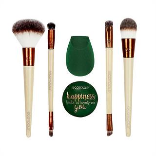 EcoTools, Warm Winter Glow Beauty Kit, 7 Piece Kit