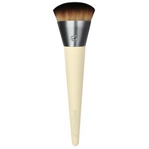 EcoTools, Щетка для нанесения косметики на лицо, 1 щетка инструкция, применение, состав, противопоказания