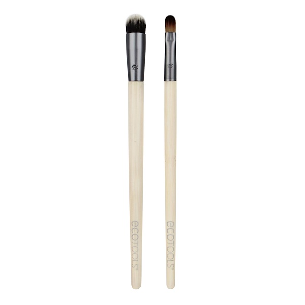 EcoTools, Ultimate Concealer Duo, 2 Brushes (Discontinued Item)