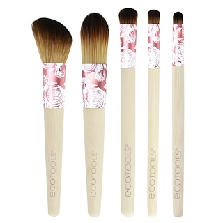 EcoTools, Modern Romance Collection, 5 Piece Brush Set