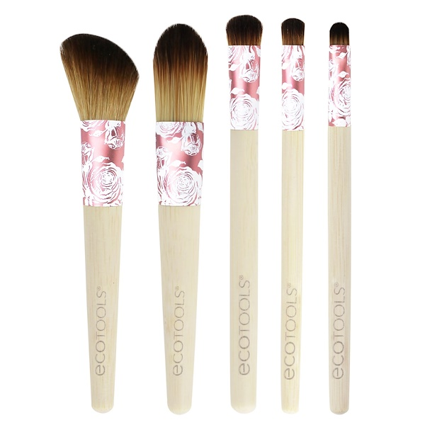 EcoTools, Modern Romance Collection, 5 Piece Brush Set (Discontinued Item)