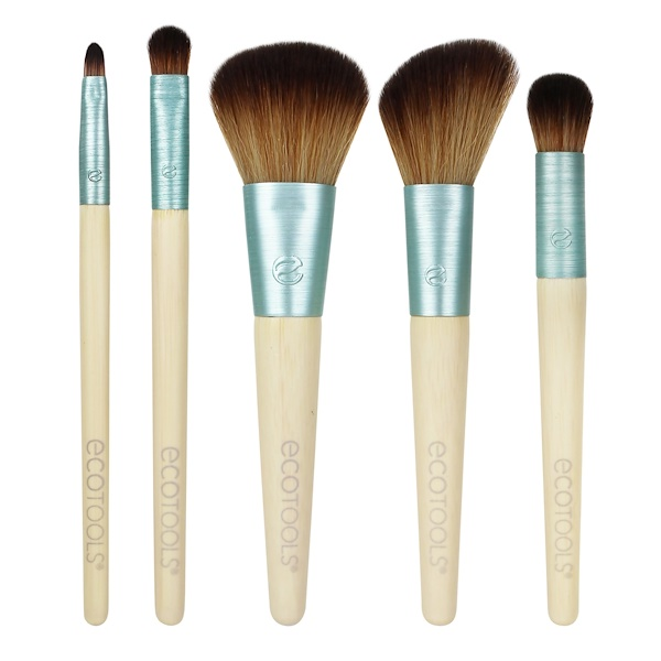 EcoTools, Stay Matte & Beautiful Brush Collection, 5 Piece Brush Set