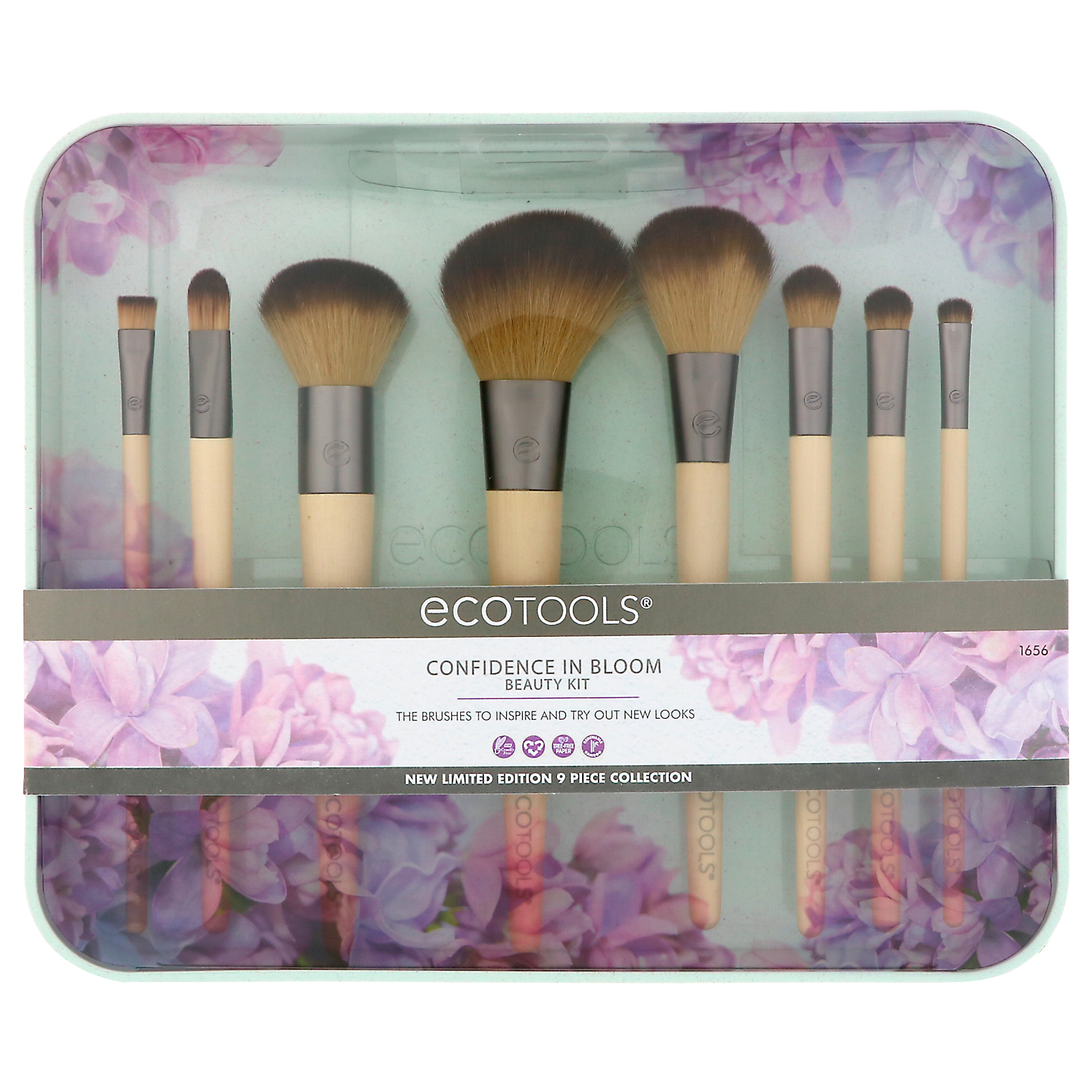 eb630b2af EcoTools, Confidence in Bloom Beauty Kit, 9 Piece Collection (Discontinued  Item)
