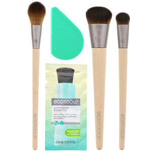 EcoTools, Prep and Refresh Beauty Kit, 6 Piece Kit