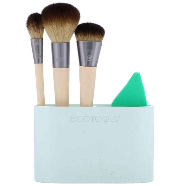 EcoTools, Airbrush Complexion Kit, 5 Piece Kit (Discontinued Item)
