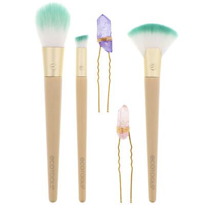 Купить EcoTools Glossy Finish Beauty Kit, набор из 5компонентов