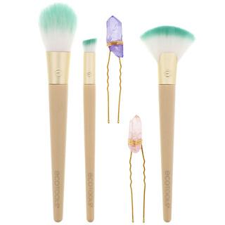 EcoTools, Glossy Finish Beauty Kit, 5 Piece Kit