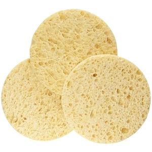 Эко Тулс, Facial Sponges, 3 Pack отзывы